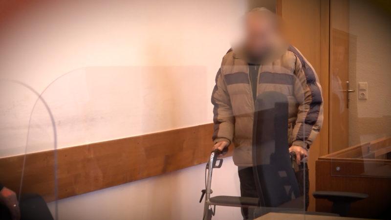 Rentner rastet aus (Foto: SAT.1 NRW)