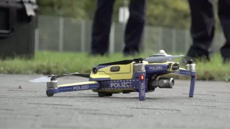 Drohnen für die Polizei (Foto: SAT.1 NRW)