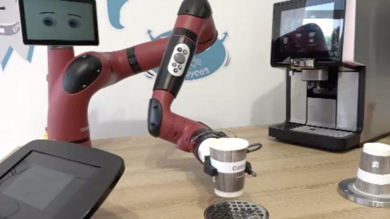 Neuer High-Tech-Roboter kommt aus Bochum (Foto: SAT.1 NRW)