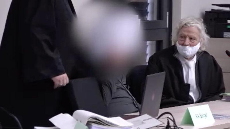 Prozess: SEK-Beamter erschossen (Foto: SAT.1 NRW)