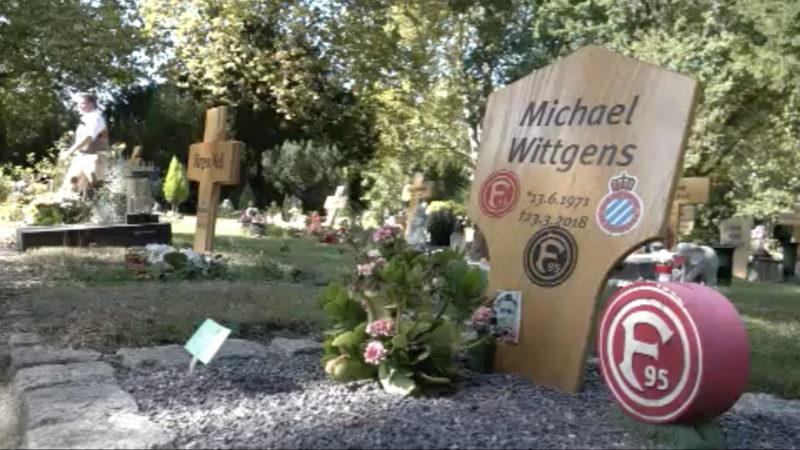 Spendenaktion für Grab von Düsseldorfer (Foto: SAT.1 NRW)