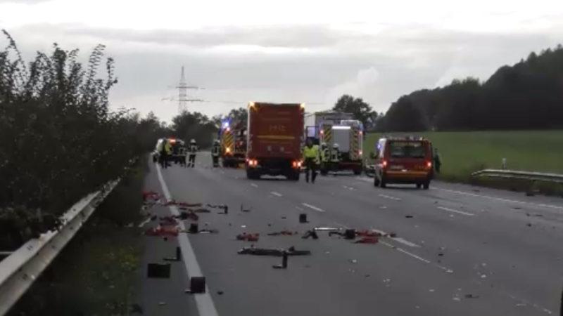 Todes-Crash (Foto: SAT.1 NRW)