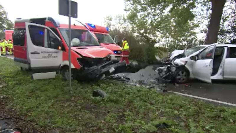 Baby stirbt bei Unfall (Foto: SAT.1 NRW)