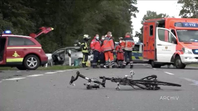 Amokfahrerin aus Lienen wird eingewiesen (Foto: SAT.1 NRW)
