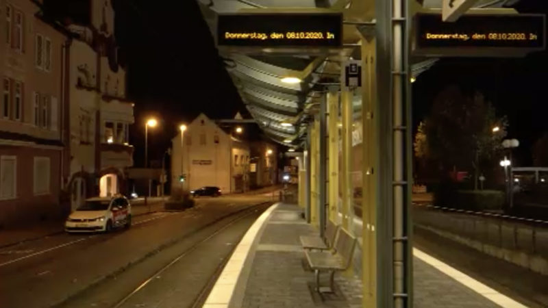 Bus und Bahn stehen wieder still (Foto: SAT.1 NRW)