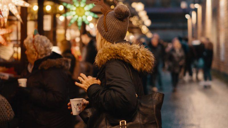 2G auf Essener Weihnachtsmarkt? (Foto: SAT.1 NRW)