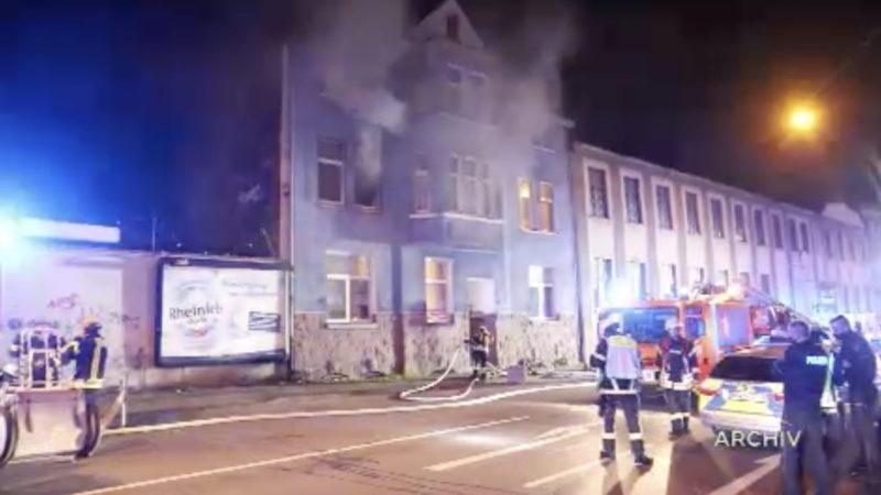 Verdächtiger nach Brandserie in Hagen gefasst (Foto: SAT.1 NRW)