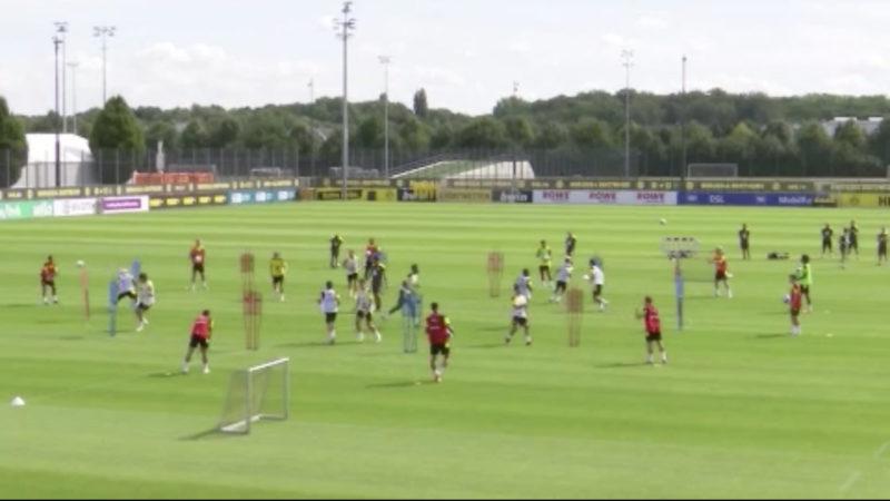 Vorbereitung: BVB Dortmund spielt gegen Brügge (Foto: SAT.1 NRW)