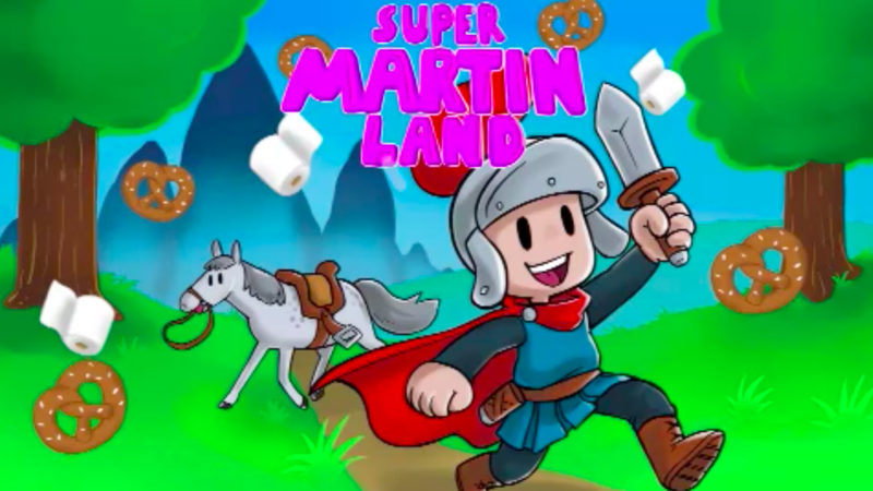 Super Martin statt Super Mario (Foto: SAT.1 NRW)