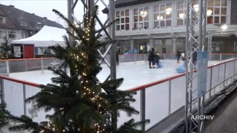 Verbot für Monheimer Eisbahn (Foto: SAT.1 NRW)