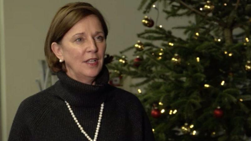 Interview mit der NRW-Schulministerin (Foto: SAT.1 NRW)