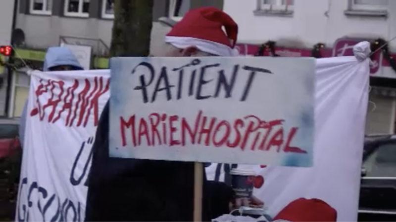 Essener Krankenhaus soll schließen (Foto: SAT.1 NRW)