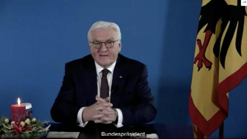 Video-Live-Chat mit dem Bundespräsidenten (Foto: SAT.1 NRW)