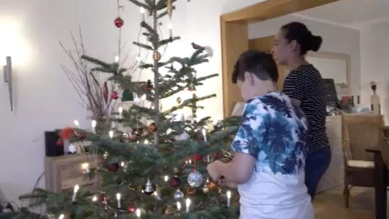 Weihnachten mit Corona-Regeln (Foto: SAT.1 NRW)
