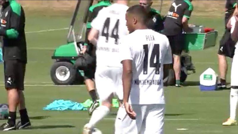 Vorbereitung: Borussia Mönchengladbach gegen Union Berlin (Foto: SAT.1 NRW)