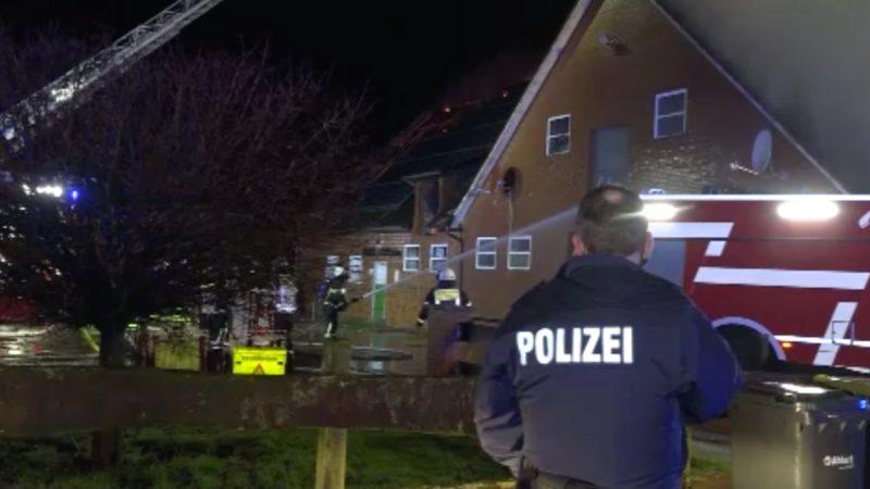 Tobende Flammen (Foto: SAT.1 NRW)