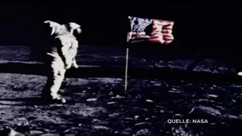 Kinderspuren auf dem Mond (Foto: SAT.1 NRW)