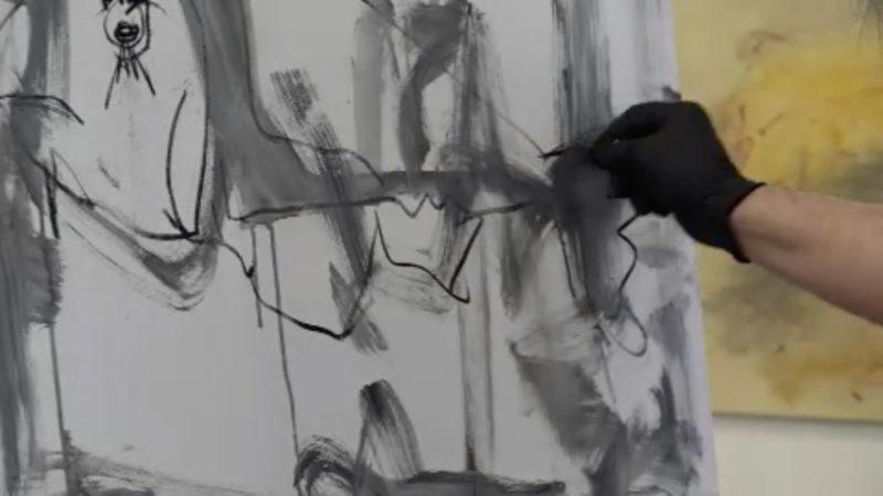 Künstler bieten Kultur im Schaufenster (Foto: SAT.1 NRW)