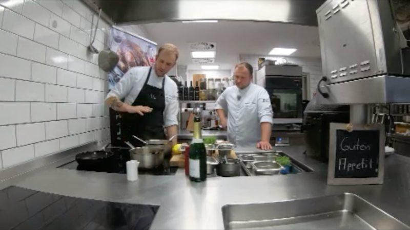Virtuelles Kochen (Foto: SAT.1 NRW)