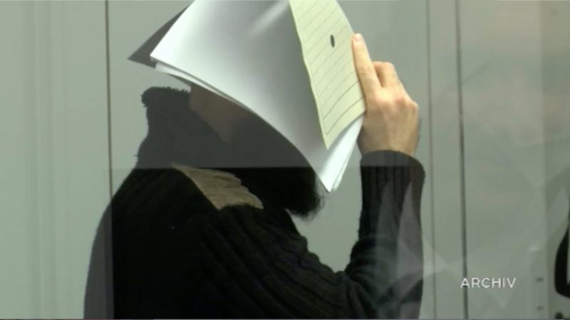 Urteil gegen IS-Chef Abu Walaa (Foto: SAT.1 NRW)