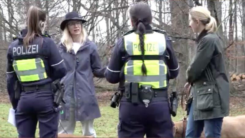 Nach Vergewaltigung von Joggerin - Polizei sucht Hinweise (Foto: SAT.1 NRW)