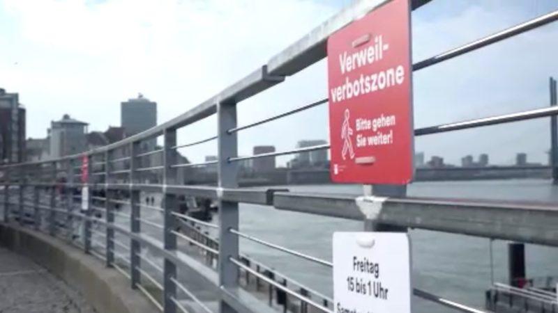 Verweilverbot in Düsseldorf geht los (Foto: SAT.1 NRW)