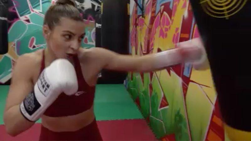 Dortmunderin boxt für Goldmedaille (Foto: SAT.1 NRW)