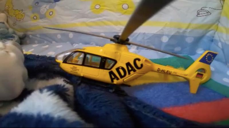 Baby in Helikopter geboren (Foto: SAT.1 NRW)