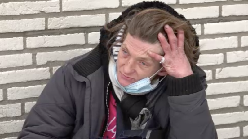 Kälte bedroht Obdachlose (Foto: SAT.1 NRW)