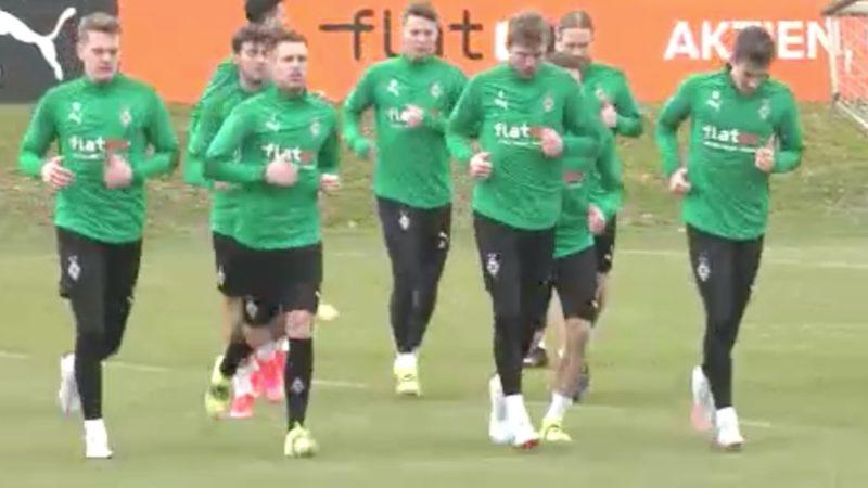 Borussia Mönchengladbach vor Achtelfinale in Ungarn (Foto: SAT.1 NRW)