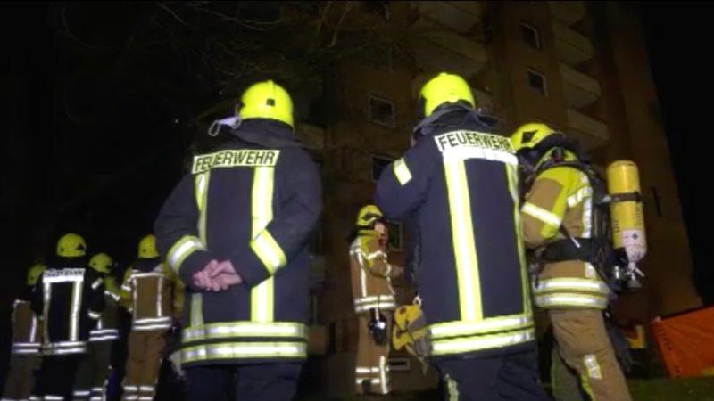 50-Jähriger rettet Nachbars-Sohn bei Brand im Hochhaus (Foto: SAT.1 NRW)