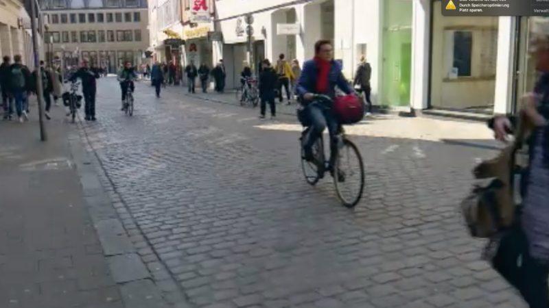Grünen wollen mehr Radfahrer (Foto: SAT.1 NRW)