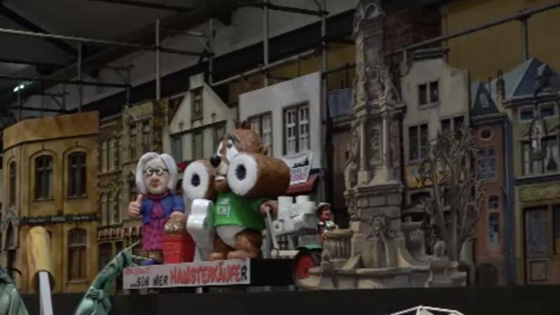 Karnevalszug im Miniformat (Foto: SAT.1 NRW)