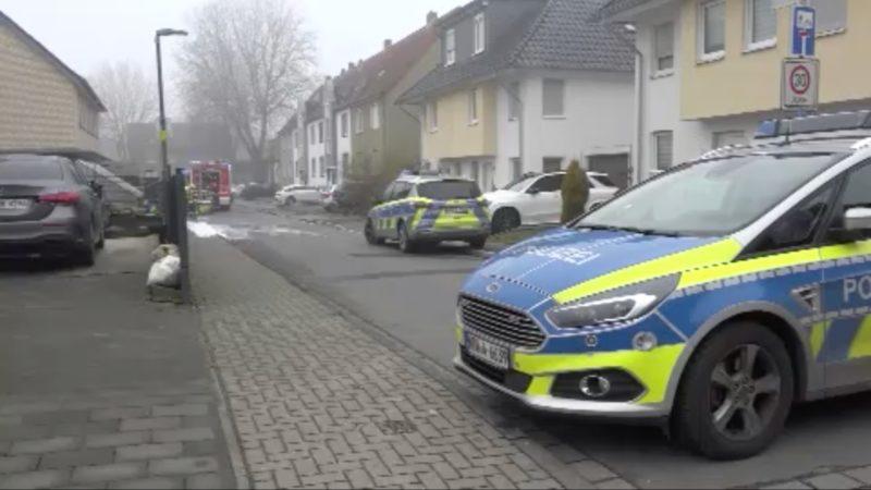 Bekannten getötet: Täter stellt sich Polizei (Foto: SAT.1 NRW)