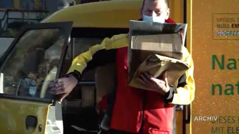DHL will auf Elektrofahrzeuge umstellen (Foto: SAT.1 NRW)