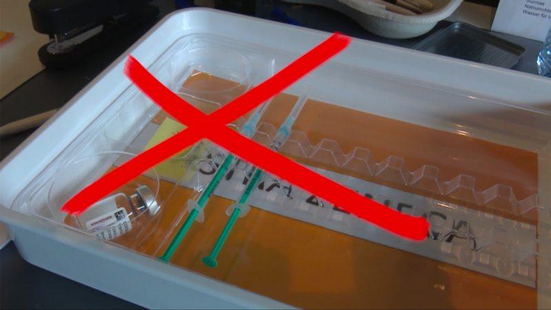 Keine Impfung mit AstraZeneca (Foto: SAT.1 NRW)