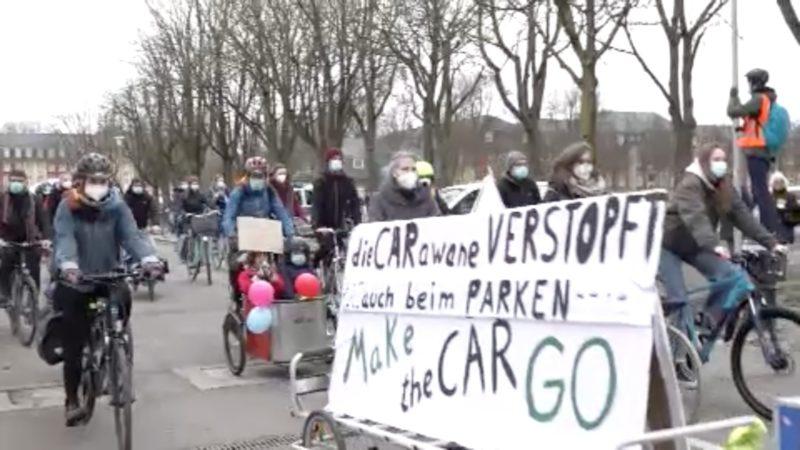 Fridays for Future-Streik (Foto: SAT.1 NRW)