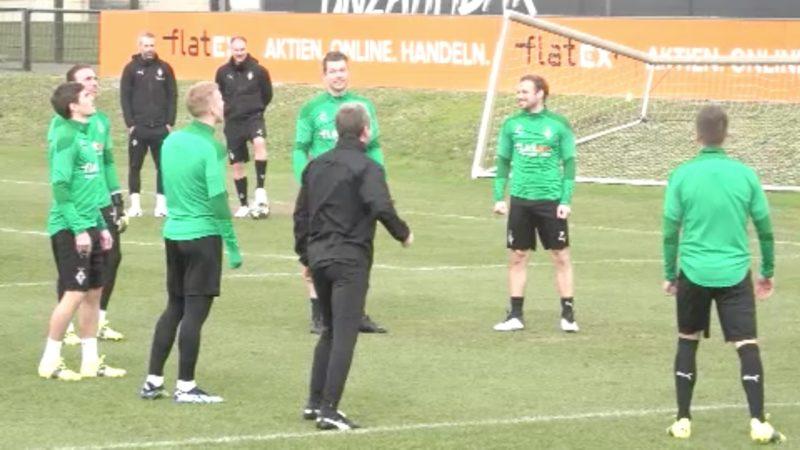 Rückspiel: Borussia Mönchengladbach gegen Manchester City (Foto: SAT.1 NRW)