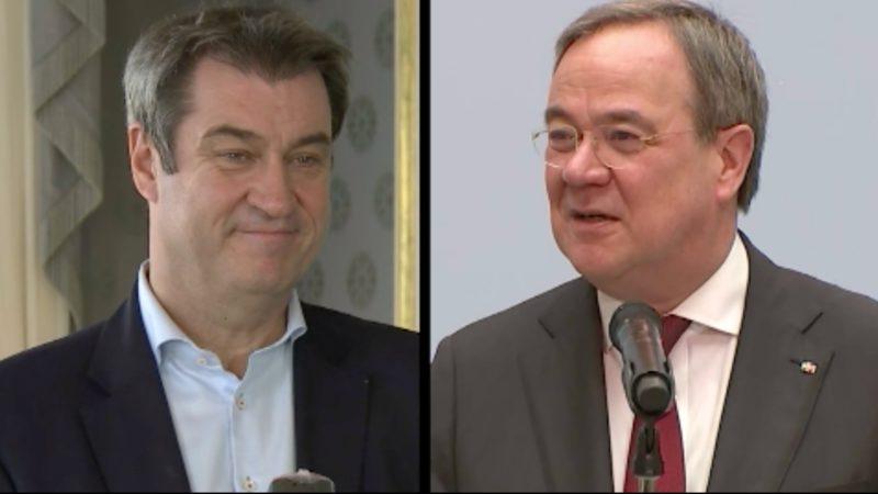 Wer wird Kanzlerkandidat der Union? (Foto: SAT.1 NRW)
