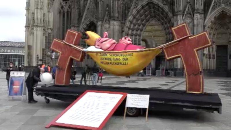 Reaktionen zum Kölner Gutachten (Foto: SAT.1 NRW)