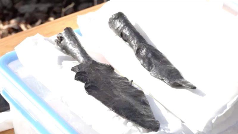 Waffen aus der Eiszeit (Foto: SAT.1 NRW)