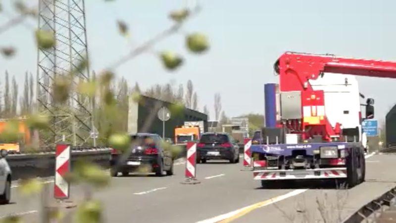 Brückenprüfung auf der A43 (Foto: SAT.1 NRW)