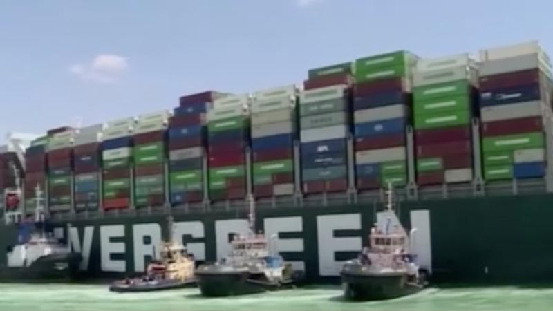 NRW-Betriebe spüren blockierten Suez-Kanal (Foto: SAT.1 NRW)