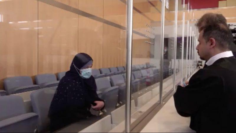 IS-Terroristin verurteilt (Foto: SAT.1 NRW)
