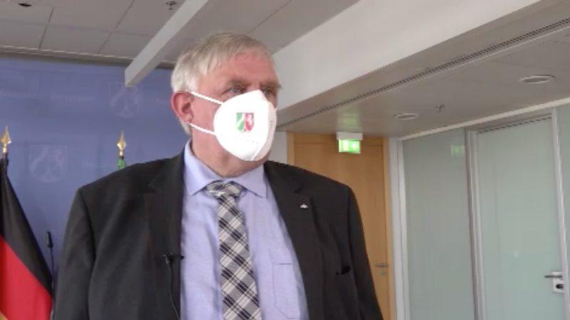 Interview mit dem Gesundheitsminister (Foto: SAT.1 NRW)