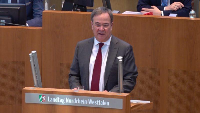 Armin Laschet macht Hoffnung (Foto: SAT.1 NRW)