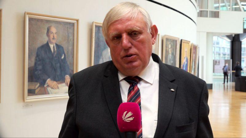 NRW-Gesundheitsminister Laumann zur aktuellen Coronalage (Foto: SAT.1 NRW)