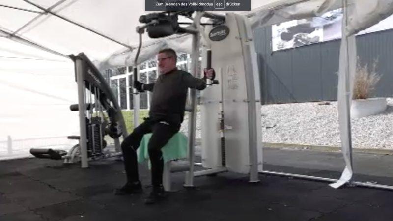 Outdoor-Fitness (Foto: SAT.1 NRW)