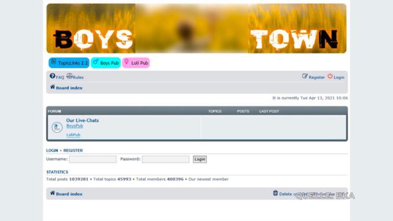 """Kinderporno-Seite """"Boystown"""": Bruder des Täters spricht (Foto: SAT.1 NRW)"""