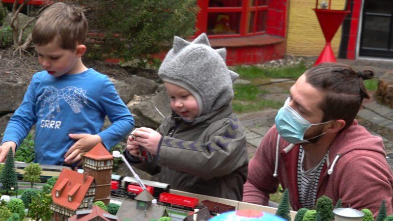 Eisenbahn für schwerkranke Kinder (Foto: SAT.1 NRW)